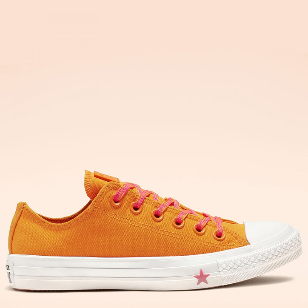 Converse Chuck Taylor All Star Glow Up Low Top Orange