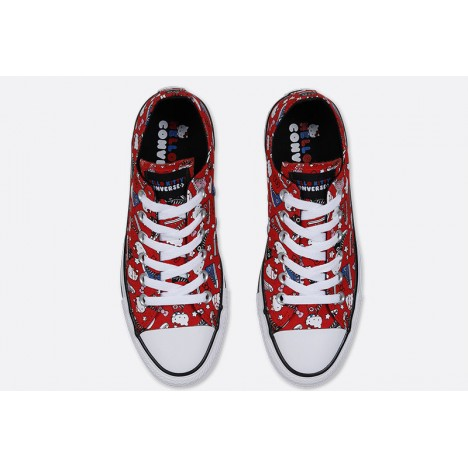 Converse Chuck Taylor All Star Hello Kitty Low Red