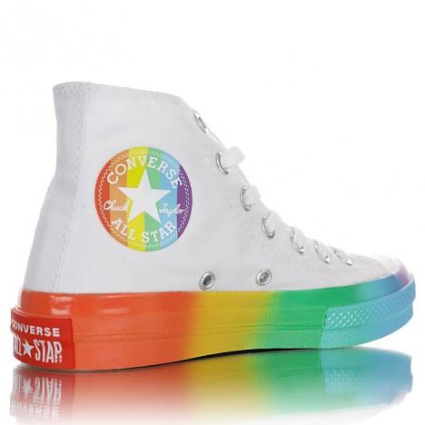 Converse Chuck Taylor All Star Hi Smiley Multi Sneaker
