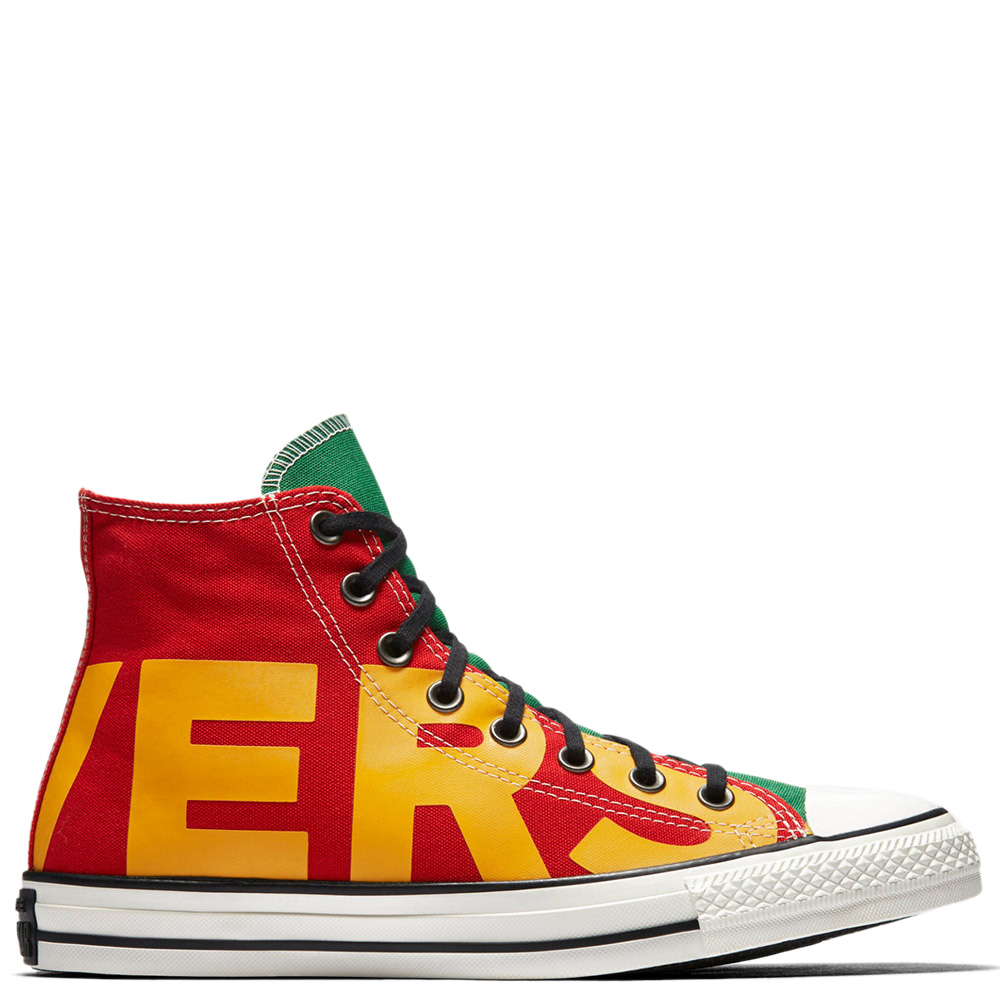 Star High Iconic Red Green Yellow Shoes