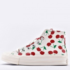 Converse Chuck Taylor All Star Lift Womens High Top Cherry Print