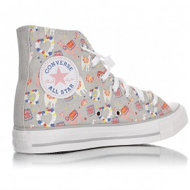Converse Chuck Taylor All Star Llama Party Hi Grey