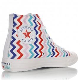 Converse Chuck Taylor All Star Multicolor Chevron Hi High-top Sneaker