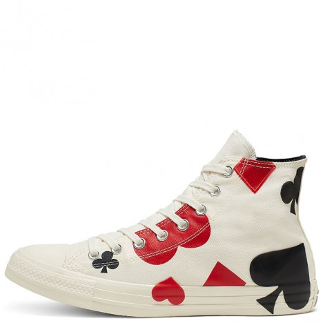 Converse Chuck Taylor All Star Queen of Hearts High Top Shoes