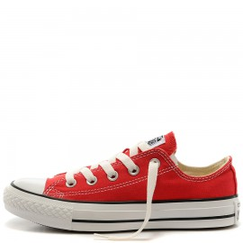 Converse Chuck Taylor All Star Red Canvas Low Top