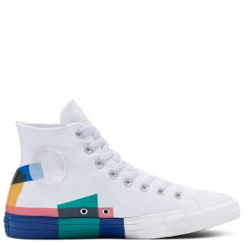Converse Chuck Taylor All Star Space Racer High Top White