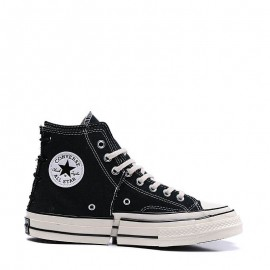 Converse Chuck Taylor All Star Stitching Black High Tops
