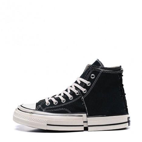Converse Chuck Taylor All Star Stitching Black High Tops