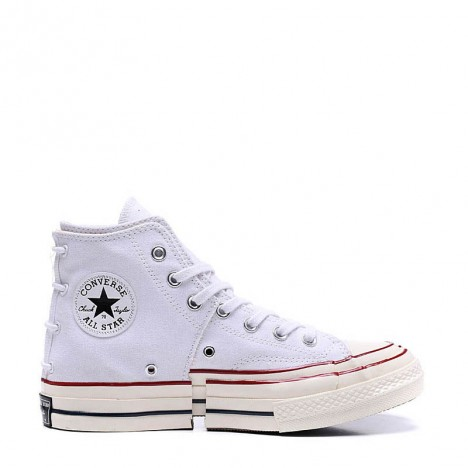 Converse Chuck Taylor All Star Stitching White High Tops