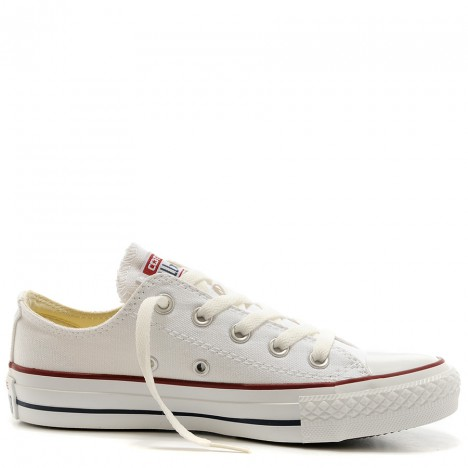 Converse Chuck Taylor All Star White Canvas Low Top