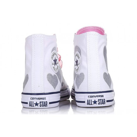 Converse Chuck Taylor Hearts High Girls Sneakers