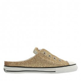 Converse Chuck Taylor S Glittery Mule Slip Ox Women Shoes Brown