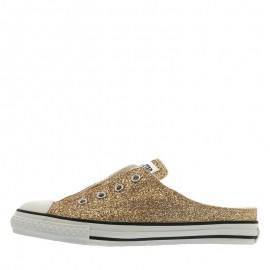 Converse Chuck Taylor S Glittery Mule Slip Ox Women Shoes Brown