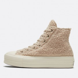 Converse Cozy Club Platform Chuck Taylor All Star Winter Shoes