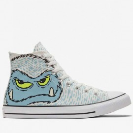 Converse Cute Snow Man Chuck Taylor High Tops Shoes