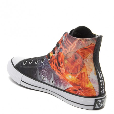 Converse DC Comics Flash Chuck Taylor All Star High Sneaker