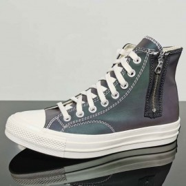 Converse Demon Chuck Taylor 1970s High Tops Side Zipper