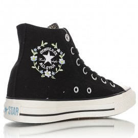 Converse Embroidered Floral Chuck Taylor All Star High Top Shoes