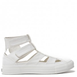 Converse Gladiator Sneakers Cut-Out White High Tops
