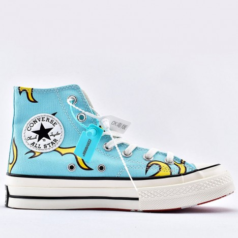 Converse Golf Le Fleur Flame Chuck 70 High Top Blue