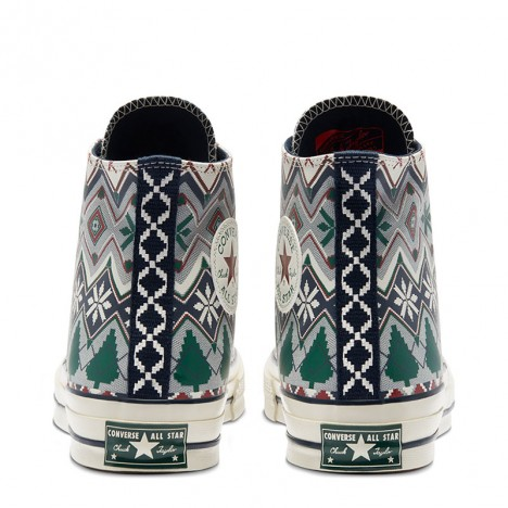 Converse Holiday Sweater Chuck 70 Unisex High Top Shoes