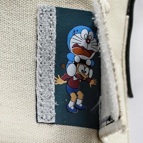 Converse Kappa x Doraemon White High Tops