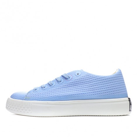 Converse Lady Summer Hollow carved Design Breathe Freely Sky Blue Canvas Low Top