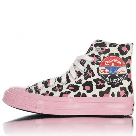 Converse Logo Play Camo Womens Chuck Taylor All Star Pink High