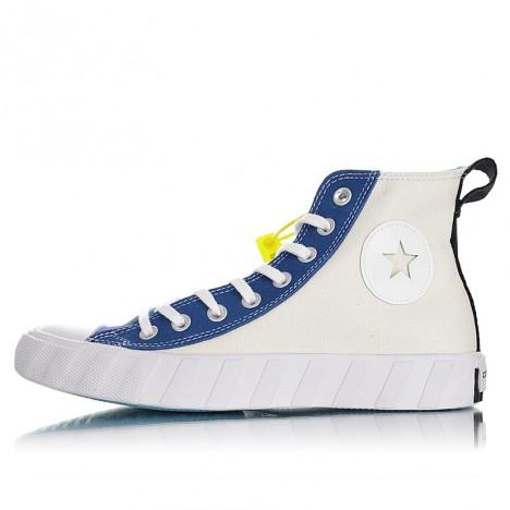 Converse Not A Chuck Hi Canvas Egret Navy White