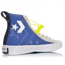 Converse Not A Chuck Hi Canvas Egret Navy White