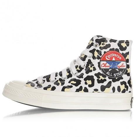 Converse Off-White Logo Play Chuck 70 High Sneakers Black