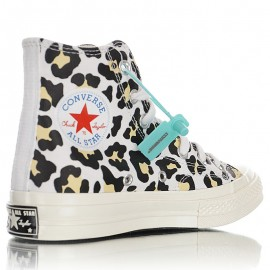 Converse Off-White Logo Play Chuck 70 High Sneakers Black