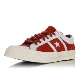 Converse One Star Academy Suede OX Low Red