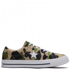 Converse One Star Camo Print Low Top
