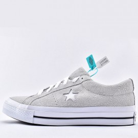 Converse One Star Grey Suede Sneaker