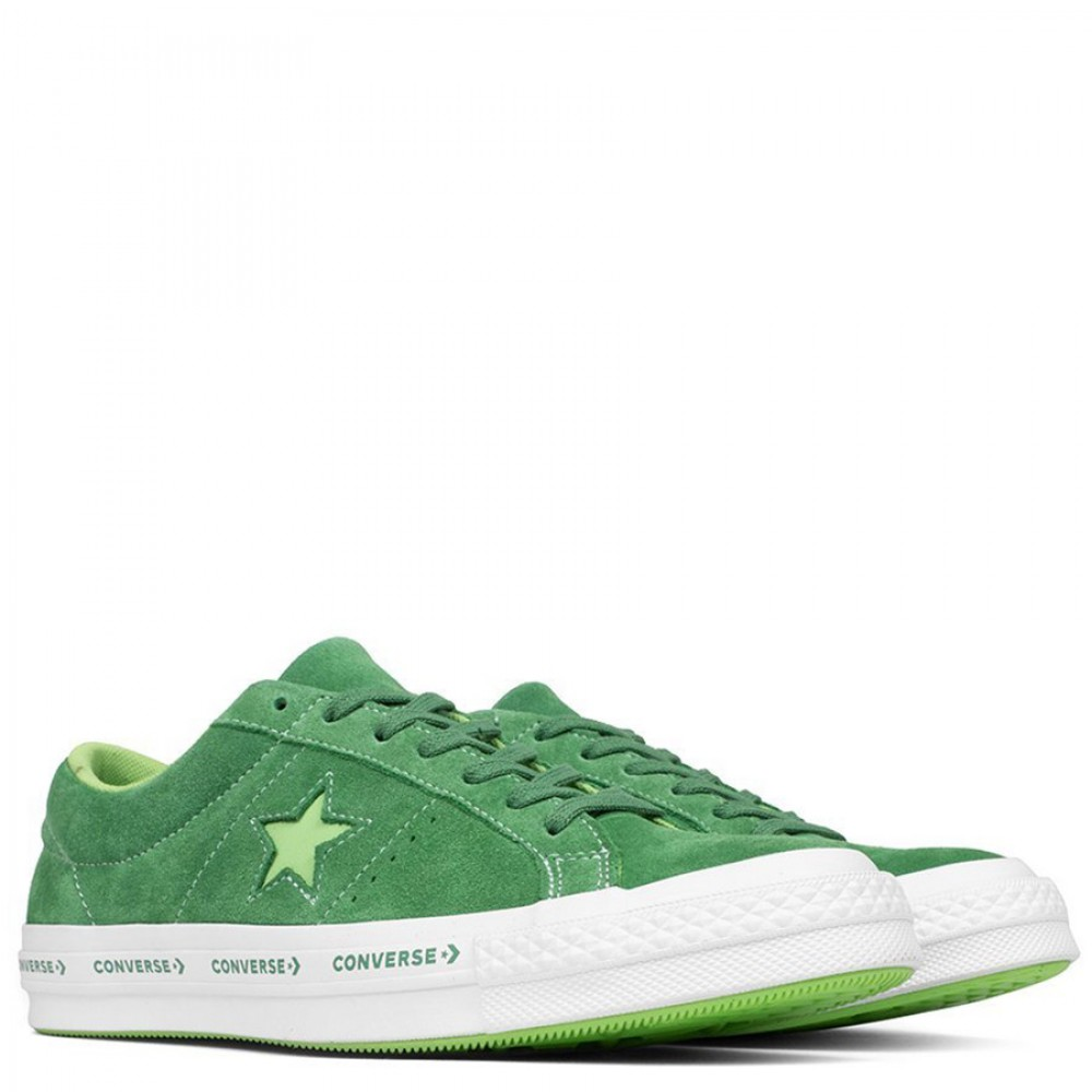 Converse One Star Ox Mint Green Suede