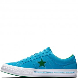 Converse One Star Ox Pinstripe Hawaiian Ocean Jolly Green