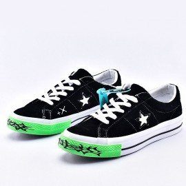 Converse One Star Ox Sad Boys Yung Lean Black Suede