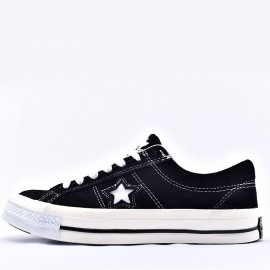 Converse One Star Patta x Deviation Black Low