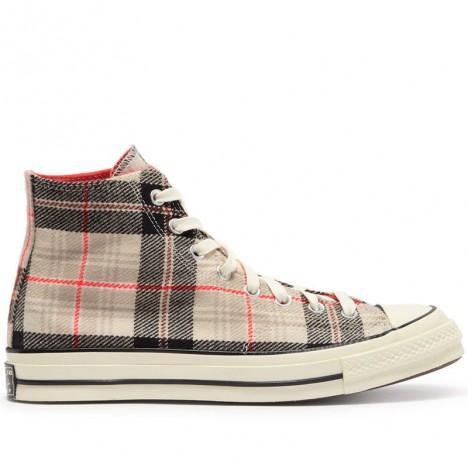 Converse Plaid Chuck 70 Unisex High Top Shoes