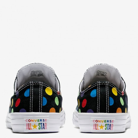 Converse Pride x Miley Cyrus Chuck Taylor All Star Low Top Black