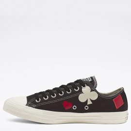 Converse Queen of Hearts Chuck Taylor All Star Low Top Black