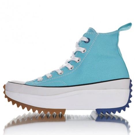 Converse Runstar Hike High Platform Gum Sneaker Blue