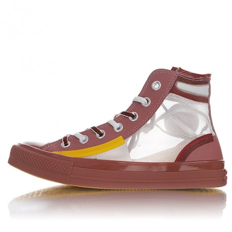 Converse Translucent Mesh Utility Chuck Taylor All Star High Top