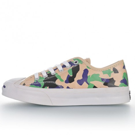 Converse Twisted Summer Camo Jack Purcell Archive Prints Low Leather Ox