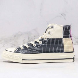 Converse Unisex Chuck 70 Hi Quad Ripstop Black Canvas Shoes