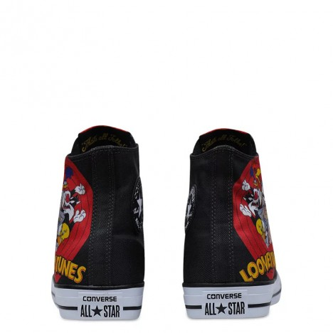 Converse Warner Bros Looney Tunes Chuck Taylor All Star High Top Black