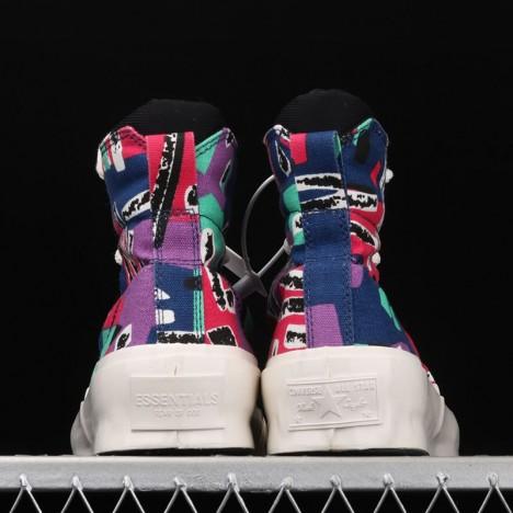 Converse X Fear Of God Skid Grip Hi Essentials Multi 70 High Top Canvas Shoes