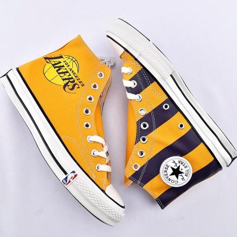 Converse X NBA Chuck Taylor All Star High Premium Los Angeles Lakers