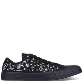 Converse x BT21 Chuck Taylor All Star Black Low Tops